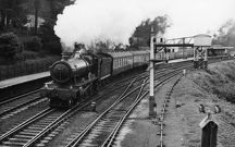 Hall Class locomotive No. 5972, Olton Hall, 4th October 1958