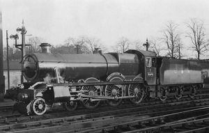 Hall Class locomotive, no. 6976, Graythwaite Hall