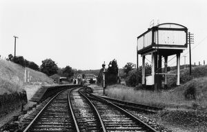 Hallatrow Station and water tower, c.1950s
