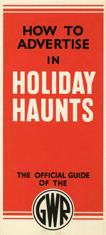 Holiday Haunts Artwork, 1935