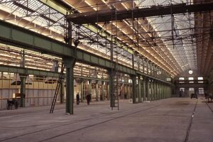 Internal view of B Shed, c1990s