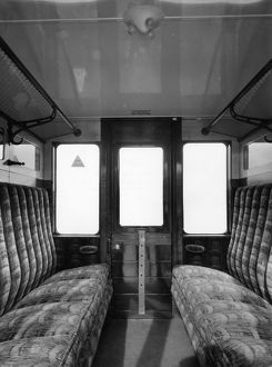 Internal view of brake third carriage No.1323