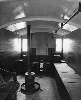 Internal view of a Toad Brake Van