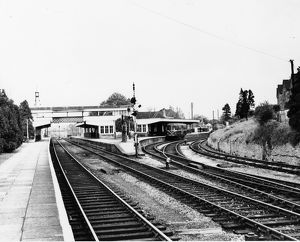 Kemble Station looking towards Stroud, c1960s