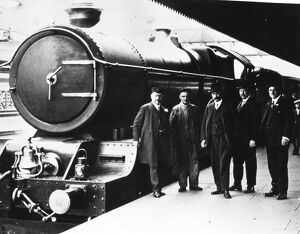 King George V at Birmingham Snow Hill Station, 1927