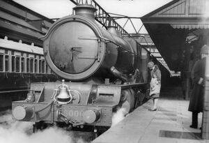 King George V at Plymouth North Road Station, 1931