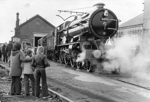King George V at Swindon Works, 1970s