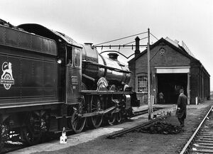 King George V at Swindon Works, 1979