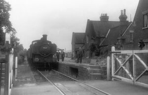 Kingsland Station, July 1959