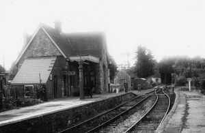 Kington Station, July 1957