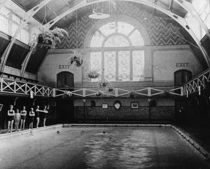 Large Swimming Bath, c1905