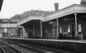 Ledbury Station, 25th June 1950