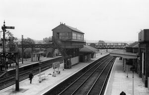Leominster Station, 27th June 1950