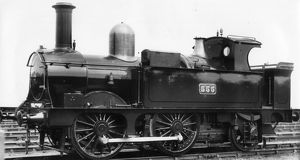 Locomotive No. 555