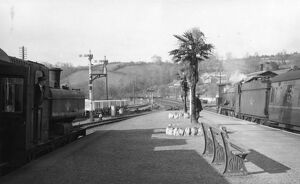 Lostwithial Station, April 1960