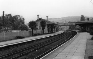 Lostwithial Station, July 1952