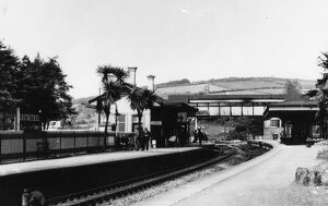 Lostwithial Station, May 1935