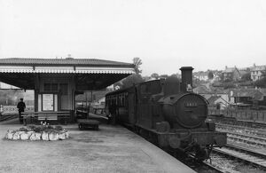 Lostwithial Station, September 1958