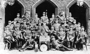 Mechanics Institute Band, c1900