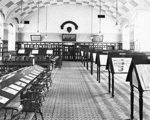 Mechanics Institute Reading Room, c1930s