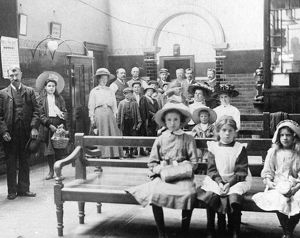 Medical Fund Dispensary Waiting Room, c1910