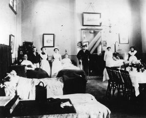 medical fund hospital staff patients c1890
