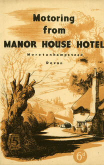 Motoring from Manor House Hotel, 1947