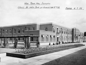 New Town Hall, Swindon 1938