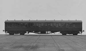 Non Corridor Brake Composite carriage No. 6276