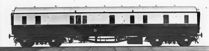 Passenger Brake Van, No. 109