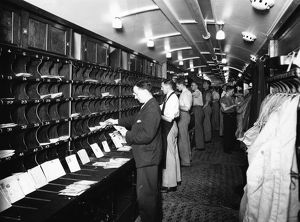 Post Office Sorting Van, 1st July 1935