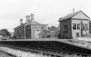 places/stations halts welsh stations presteign station/preteign station 1959
