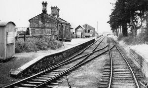 places/stations halts welsh stations presteign station/preteign station 1961