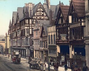 Chester, The Rows, c1890s