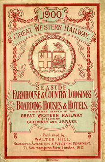 Seaside Farmhouses, Country Lodgings, Boarding Houses and Hotels, 1900