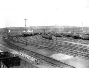 Sidings at Newport Docks