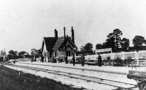 Stow-on-the-Wold Station, c1900