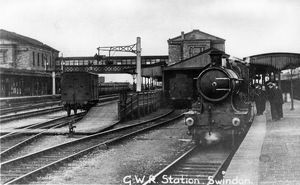 Swindon Station, c1920