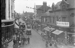 Swindon town centre prior to trip 1934