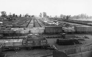 Swindon Works Broad Gauge Wagon Dump, 1892
