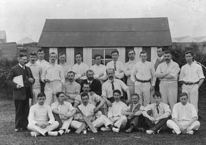 Swindon Works, Drawing Office Cricket Team, c.1906