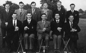 Swindon Works, Drawing Office Putting Team, 1955