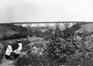 Treviddo Viaduct, 1895