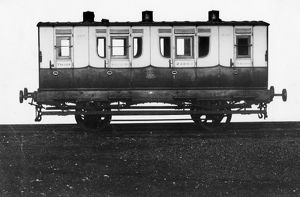 Tri-Composite broad gauge 4-wheeler carriage, built 1851
