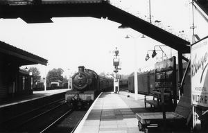 Trowbridge Station, 1960
