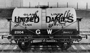 United Dairies Milk Tank, 1927