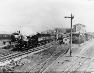 View of Swindon Station, 1895
