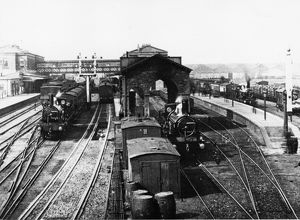 View of Swindon Station, c1880s