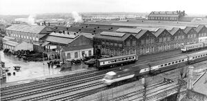 View of Swindon Works, 1982