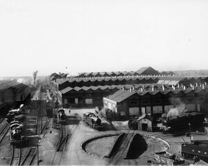View of Swindon Works, c1930s